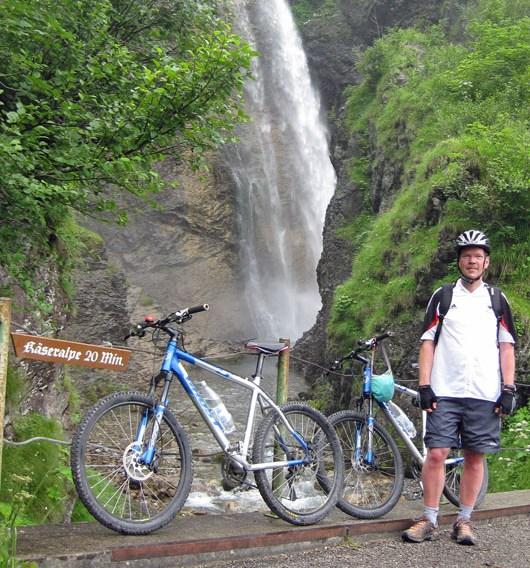 Der Urlaub ist zu Ende, Fahrradtour im Oytal, Oberstdorf