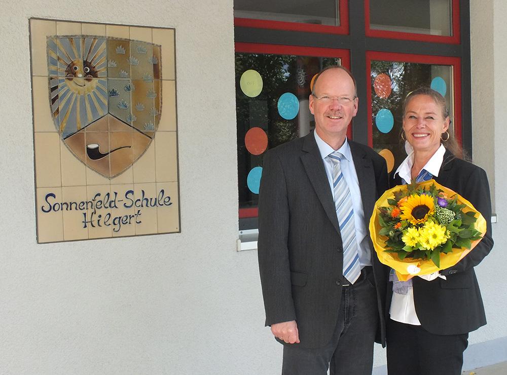 Unsere neue Schulleiterin Frau Katja Heyer