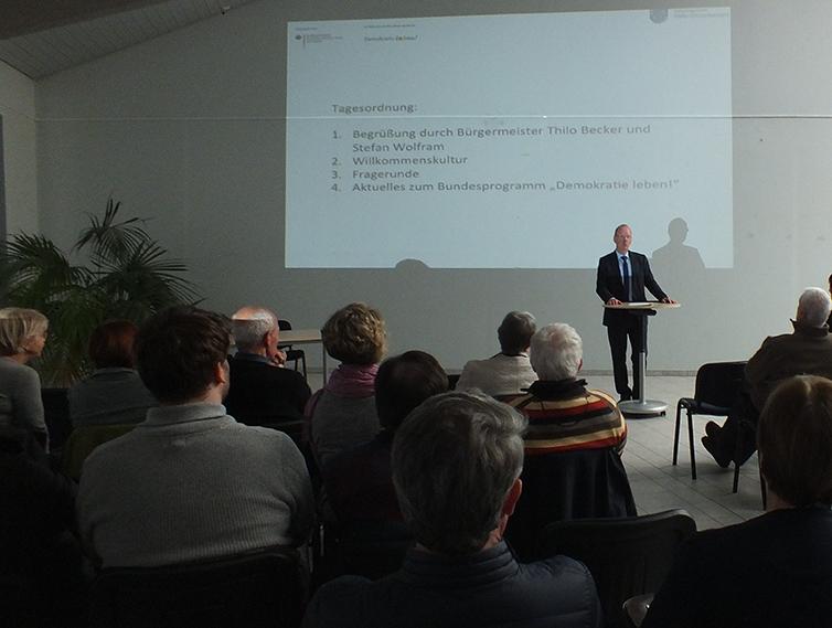 Kurze Ansprache bei der Demokratie-Konferenz
