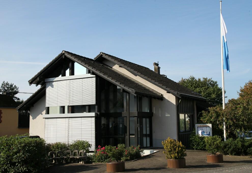 Das neue Gemeindezentrum entstand in der ehemaligen Filiale der Westerwaldbank